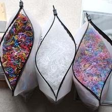 2000 sztuk dziewczyny akcesoria do włosów nylonowe krawaty elastyczne gumki do włosów dzieci kucyk uchwyt na opaski gumowe dla dzieci z pałąkiem na głowę guma do włosów tanie tanio PRETTY KITTY CN (pochodzenie) Nakrycia głowy Elastyczne opaski do włosów Moda Stałe