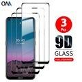 3 шт. 9D изогнутое закаленное стекло для Nokia 7,2/6,2/5,4/5,3/3,4/2,4 2020 Защита экрана для Nokia 8,3 5G защитная пленка