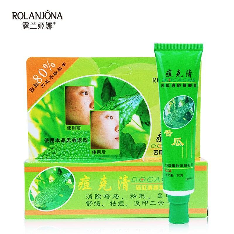 12 PCS Face Acne Treatment Cream Face Skin Repairing Acne Cream Oil Control Acne Remover Facial Skin Beauty Cleaning Cream