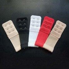 2 Pcs Hook Bra Extender For Womens Elastic Extension Strap Clip Expander Adjustable Belt Buckle Underwear
