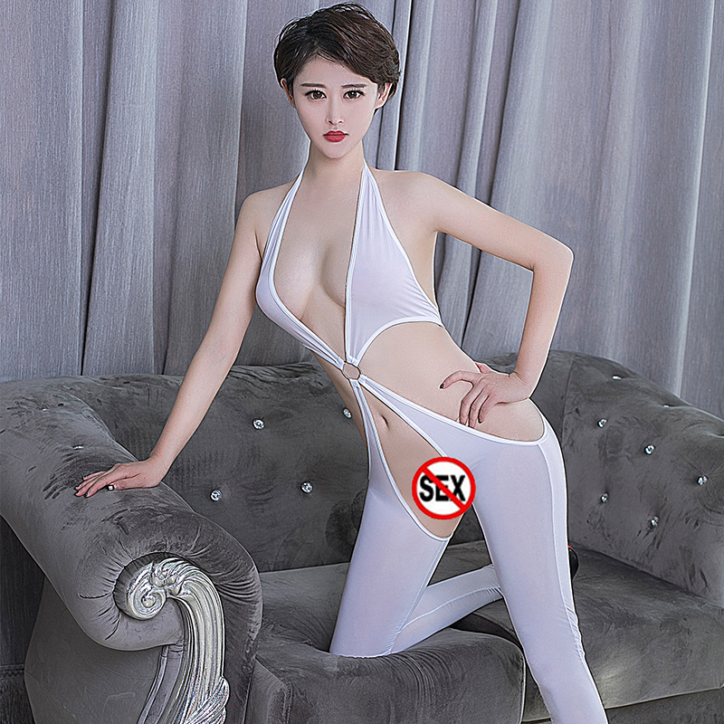 High Elasticity Sexy Women Porn Bodysuit Erotic Thin Section ...