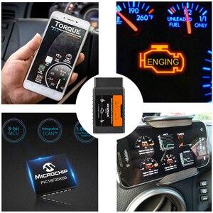 Image 2 - Đa Năng OBD2 ELM327 V1.5 Bluetooth/Wifi Pic18f25k80 Cho iPhone IOS Tự Động OBD Scannne Dụng Cụ OBD 2 ELM 327 V1.5 WI FI ODB2