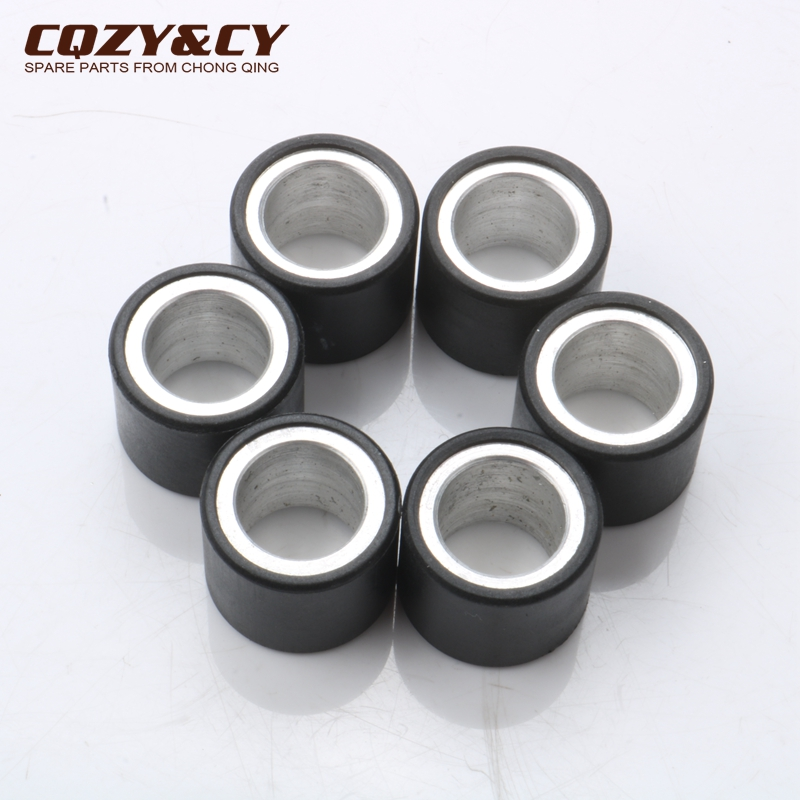 6pc Variator Racing Roller Weights 5gram 19x15.5 Mm For PIAGGIO Vespa Et2 Et4 Lx S 50cc
