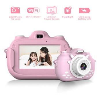 Children Digital Video Camera Mini WiFi Fotocamera 3 Inch Display Toys Photo Camcorder Kinder Photography Kamera For Child Kids