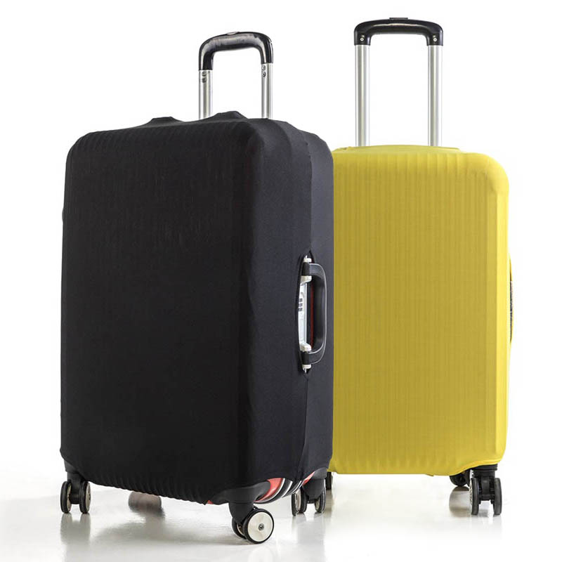 Elastic Thick Simple Travel Luggage Protective Cover Travel Accessories Suitcase Dust Case For 18-25''