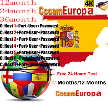 Cccam Europa Server For 2 Year Europe Spain Portugal France DVB-S2 X6+ X800 V7,V7S HD,V8 Super,V8 NOVA Satellite receiver(China)