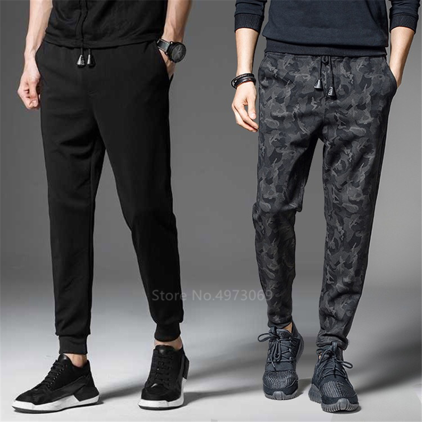 Master Chef Restaurant Uniform For Men Male Food Service Work Wear Soft Breathable Striped Camouflage Black Cooker Trouser Pants