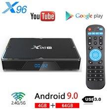 X96H Android 9.0 Smart TV BOX 4GB 64GB Allwinner H603 Quad C
