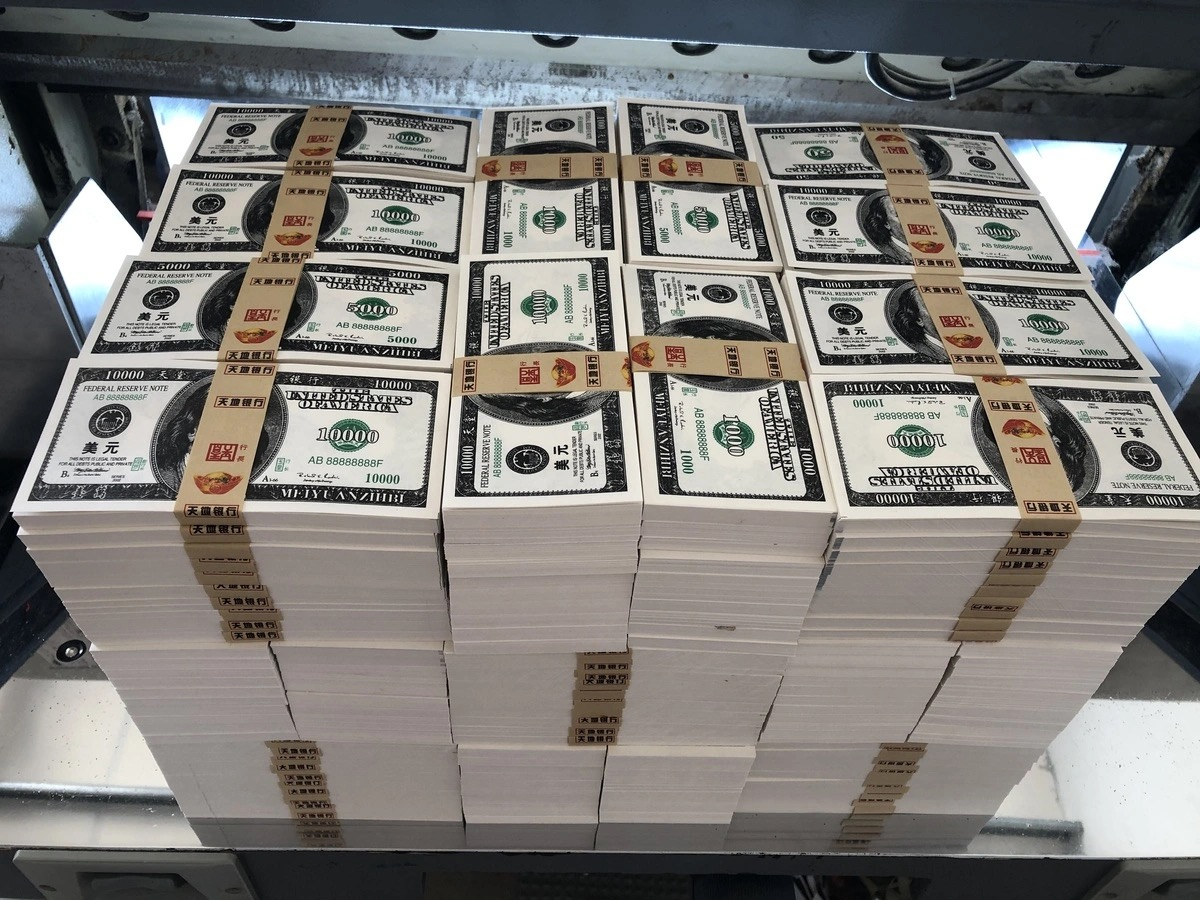 Погребальная бумага для преданных денег USD Euro RMB, реквизит для съемки фильмов и телевидения, имитация атмосферы бара, Волшебная бумага, деньг...