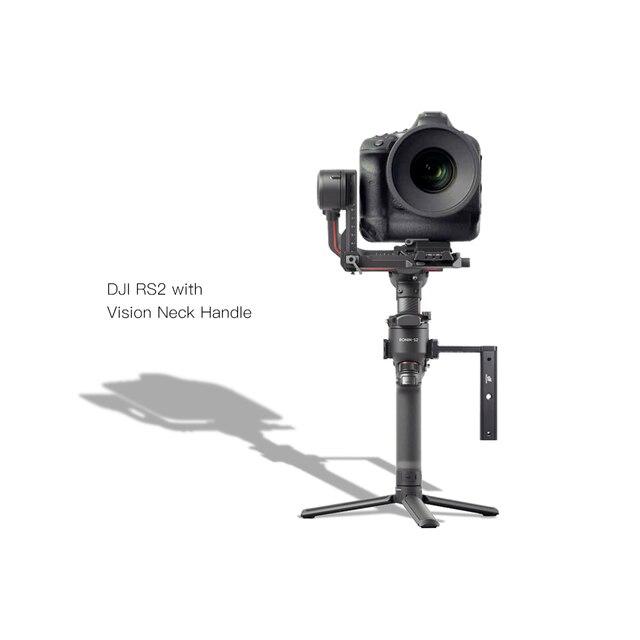 DIGITALFOTO ראיית Gimbal אביזרי צוואר הארכת ידית LED אור/צג/לdji ללא מעצורים SC / S/RS2/RSC2 Feiyu מנוף 2