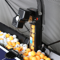 1PC JT A Table Tennis Robots Ball Machines Automatic Ball Machine 36 Spins Home Practicing Machine With a Net Cover 100 240V