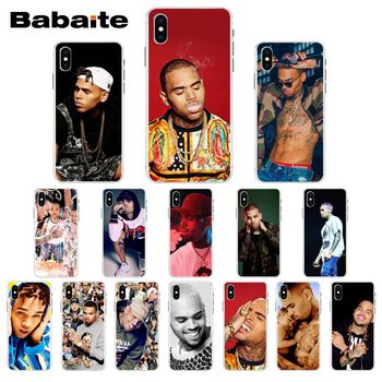 Babaite Chris Brown Breezy DIY Luxury High-end Protector Case for iPhone 5 5Sx 6 7 7plus 8 8Plus X XS MAX XR 11 11pro image