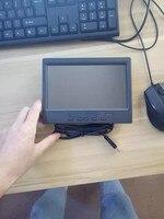 7-дюймовый автомобильный HDMI монитор с сенсорным экраном мини ЖК-монитор дисплей 1024*600 full hd портативный монитор для автомобиля заднего вида