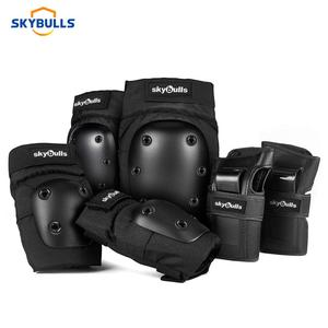 Skybulls 6pcs/set Cycling Skating Protective Gear Pads Knee Elbow Pads Wrist Guards Outdoor Sport Safety Protector For Adults(China)