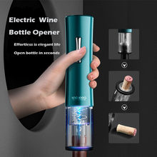 Abridor de garrafa automático para a folha de vinho tinto cortador elétrico abridores de vinho tinto abridor de frasco acessórios de cozinha gadgets abridor de garrafa