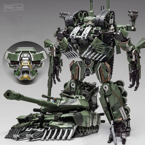 Image 2 - WJ Transformation Toys Brawl Alloy 28CM SS Leader Camouflage M04 Tank M1A1 Mode KO Action Figure Robot Model Collection Gifts
