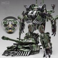 WJ transformacja zabawki Brawl Alloy 28CM SS lider kamuflaż M04 zbiornik M1A1 tryb KO figurka Robot kolekcja modeli prezenty