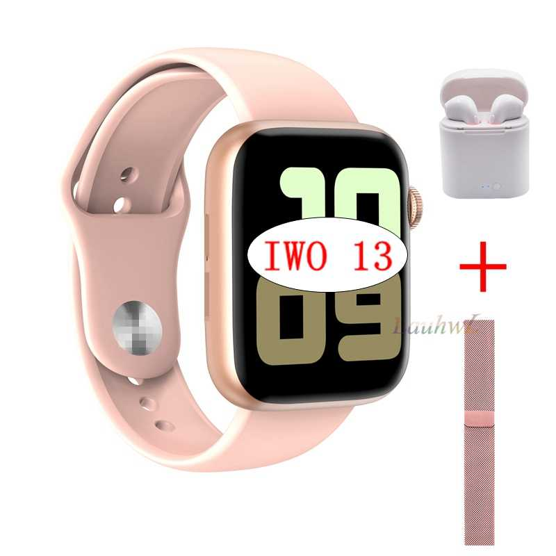2020 Iwo 13 Seri 5 IWO13 W75 Smart Watch IP68 untuk Apple IOS Android Ponsel Heart Rate Bluetooth Musik Player PK Iwo 12 8