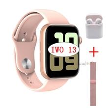 2020 IWO 13 seria 5 IWO13 W75 inteligentny zegarek IP68 dla Apple IOS Android telefon tętno Bluetooth odtwarzacz muzyczny PK IWO 12 8 tanie tanio lauhwl Android Wear Na nadgarstku Wszystko kompatybilny 128 MB Passometer Uśpienia tracker Wiadomość przypomnienie