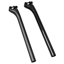 New Mountain Road 3K Full Carbon Fibre Bicycle seatpost carbon bike seatpost MTB bike parts 25.4/27.2/30.8/31.6*350mm free ship(China)