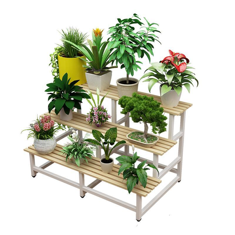 Porta Piante For Stand Terraza Suporte Flores Mueble Para Plantas Rack Dekoration Stojak Na Kwiaty Balcony Flower Plant Shelf