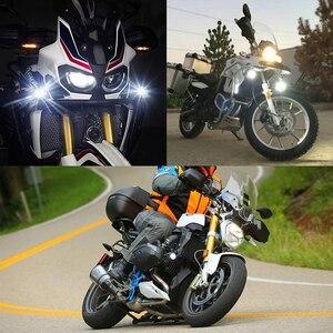 Image 5 - Motocykl przeciwmgielne światła dla BMW R1200GS ADV F800GS F700GS F650GS K1600 światło pomocnicze LED światła przeciwmgielnego montaż lampa do jazdy 40W