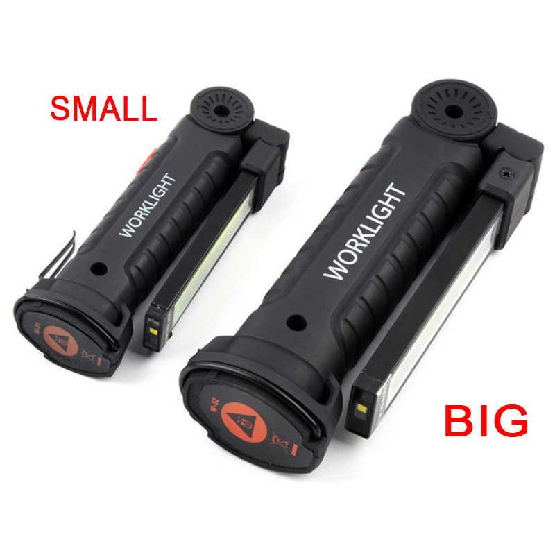Mobile Power lightbolt DEL Lampe de poche rechargeable extensible Rechargeable Magnétique