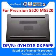 Dragão louco marca portátil nova prata inferior base inferior capa banda placa de identificação montagem para dell precision 5520 m5520 0yhd18 0kp6pf