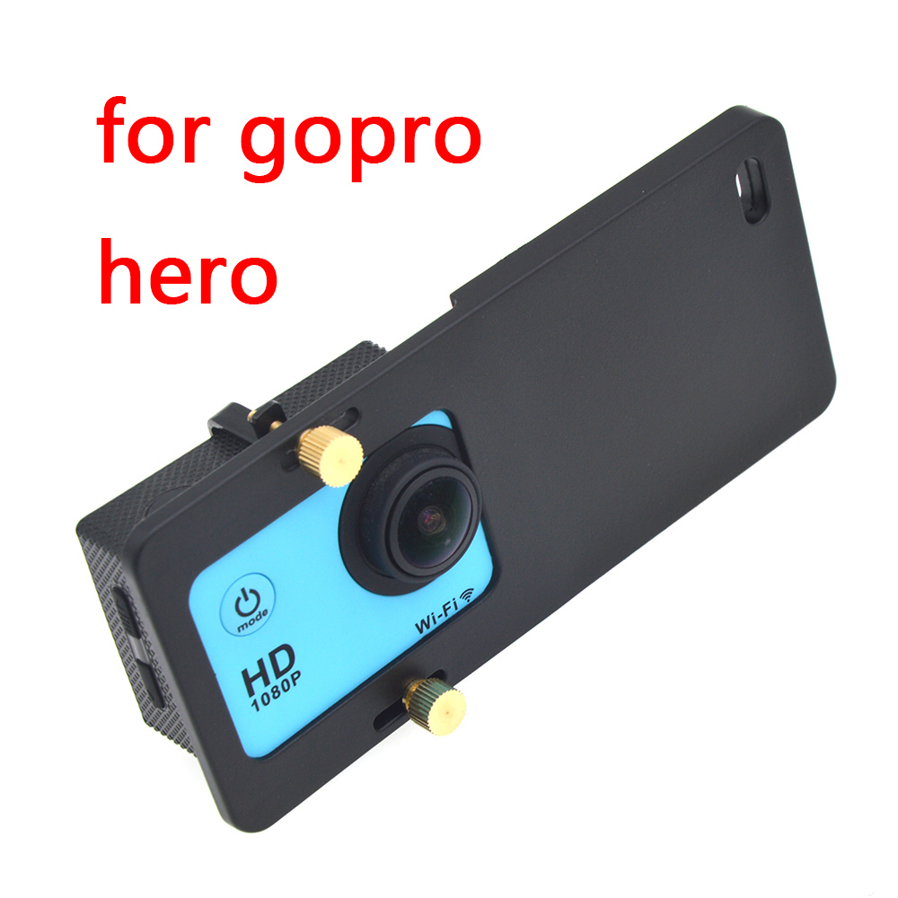 Universal Mount Plate Adapter Handheld Gimbal Stabilizer For Gopro Hero 6/5 Yi 4K Plus DJI Osmo Action 2 Camera Gimbal Handheld