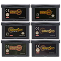 Video Game Cartridge Console Card 32 Bits Golden Sun Series For Nintendo GBA