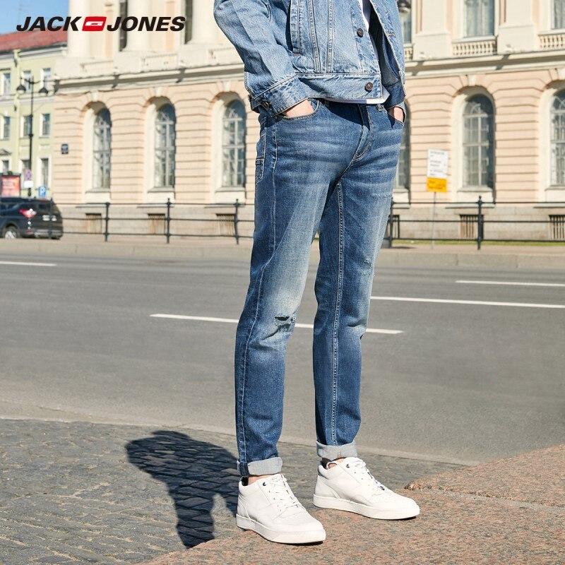 JackJones Men's Basic Elastic Cotton Slim Fit Denim Pants Jeans 219332572