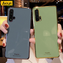 Luxury Green Phone Case For Huawei Honor