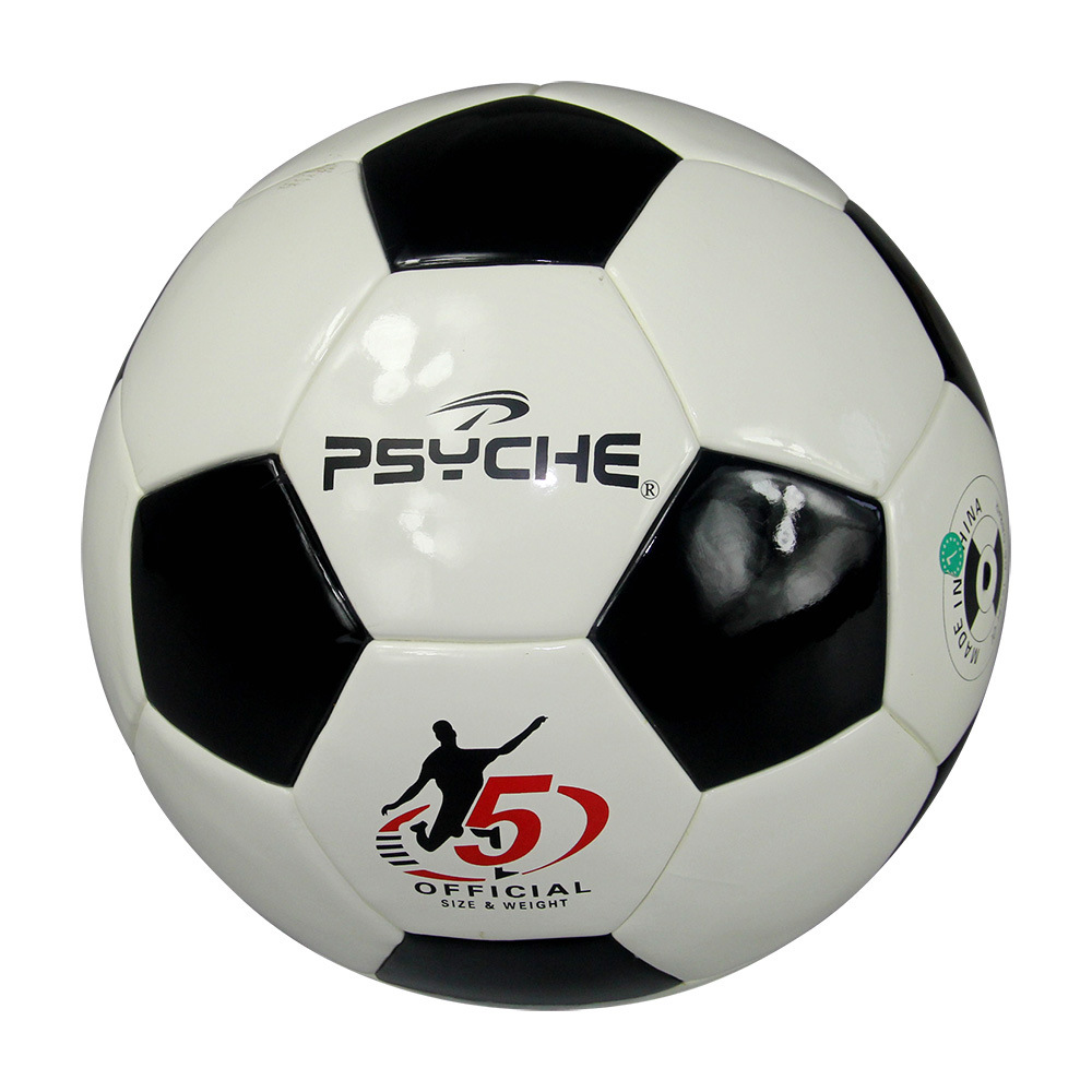 Manufacturers Direct Selling Asian Cup Psyche Black And White Football No. 5 PU Leather Jiao Zhan Ji Stickers Children Students