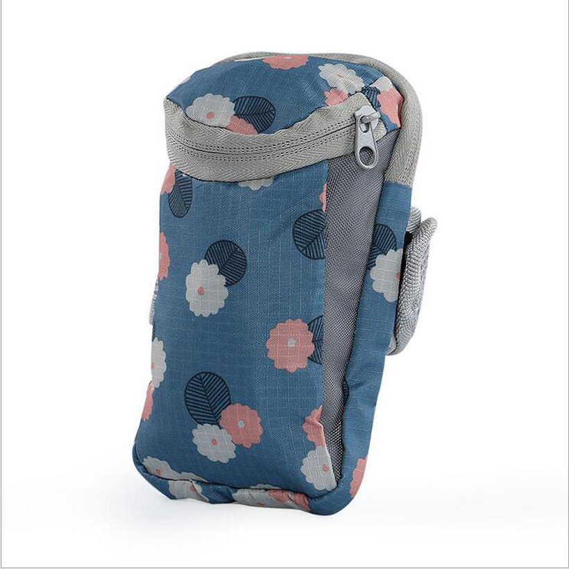 Universal Outdoor Nylon Running Riding Arm Bag Pouch Jogging Gym Bag For IPhone 7 Plus Sport Bag 6 Colors 17*9cm