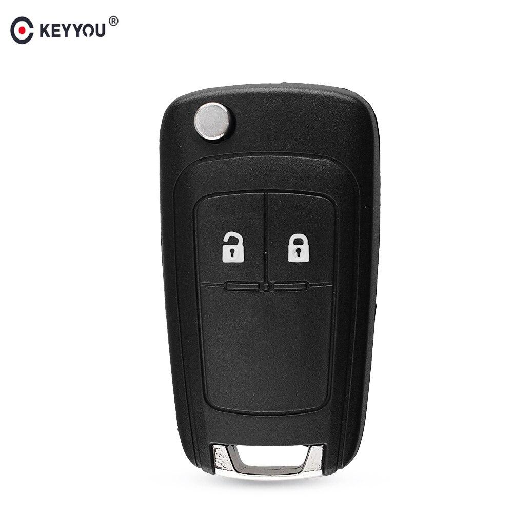 KEYYOU Remote Car Key Case For Chevrolet Cruze For OPEL Insignia Astra Zafira Mokka Agila Corsa Meriva Signum Tigra Mando