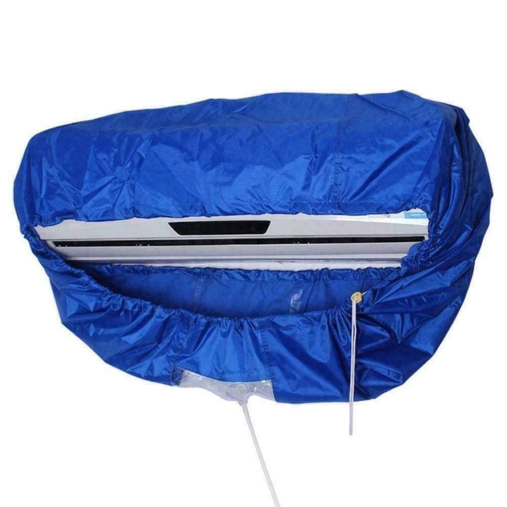 新ウォールマウント空調クリーニングカバーツール防水ダスト洗浄クリーンプロテクターバッグ