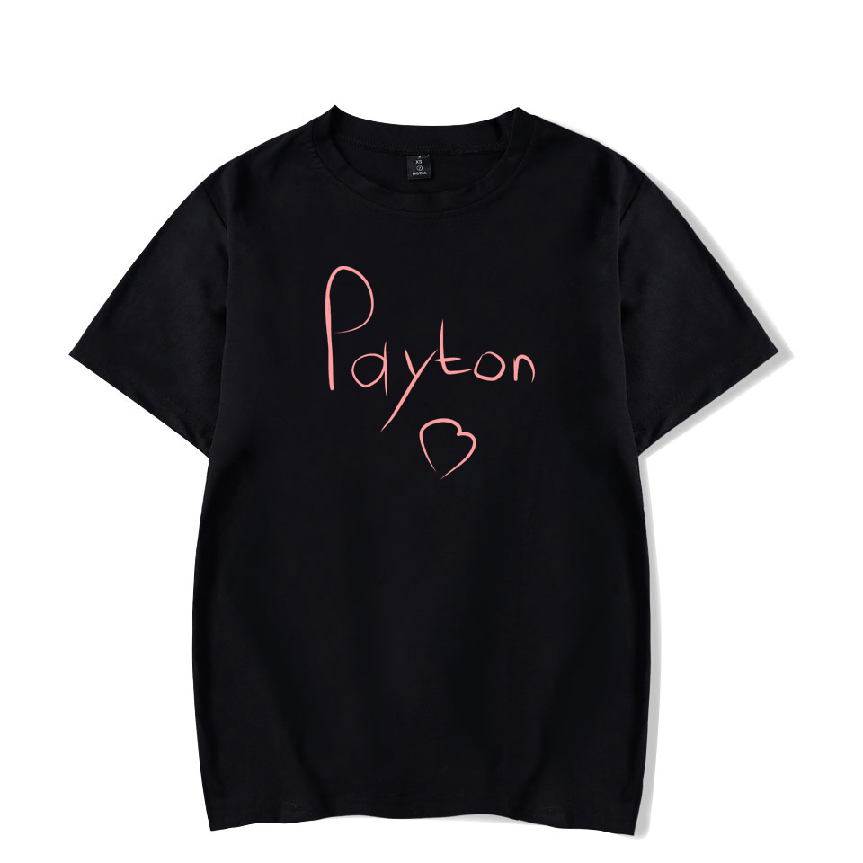 Payton moormeier T-Shirt Männer Frauen Kinder gedruckt lustiges T-Shirt 2020 Social Media Stars Printed Sommer Kawaii Unisex Harajuku Tops