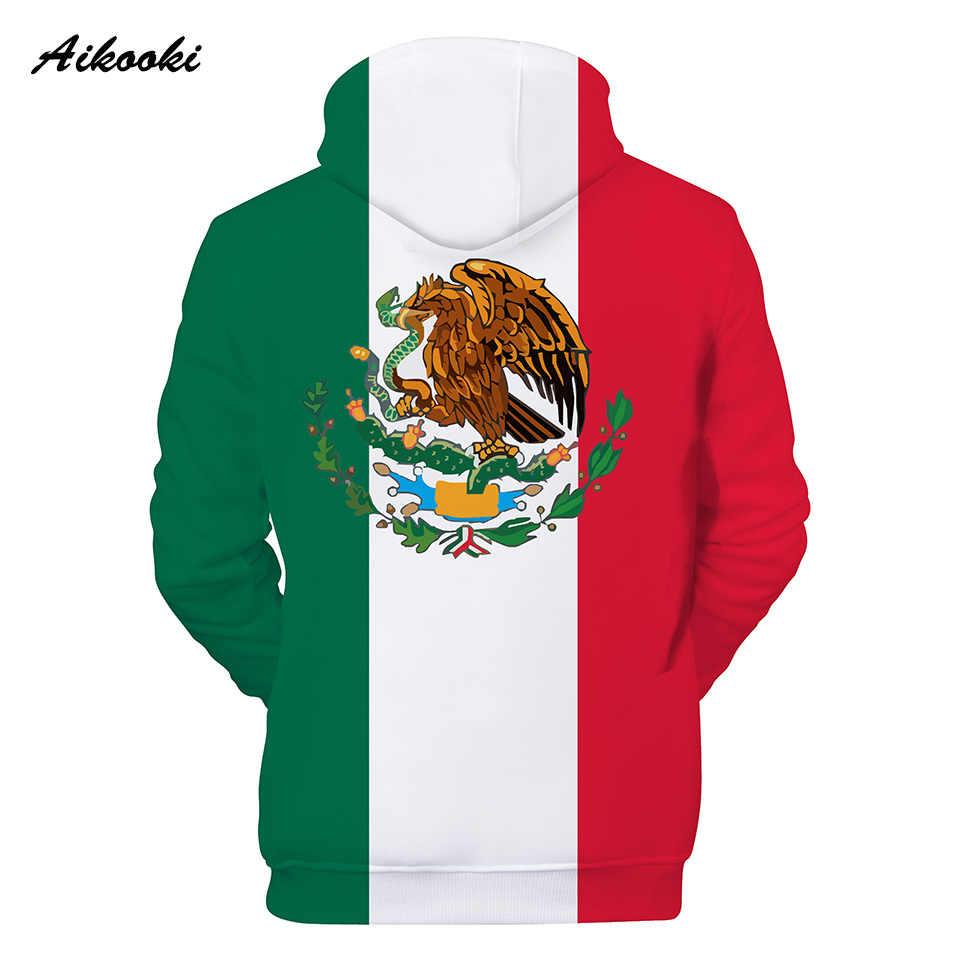 성격 소년/소녀 멕시코 국기 3d 후드 애국적인 캐릭터 얼굴 3d printe 후드 티 스웨터 봄/가을 mens 까마귀