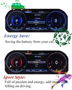 Image 2 - Panlelo tableau de bord avec cristal plein liquide, tableau de bord de remplacement 12.3 pouces, pour Toyota Prado SWC