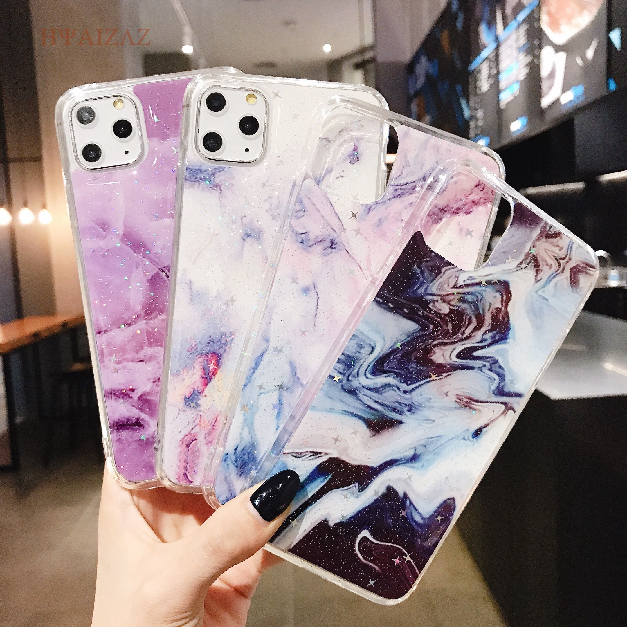 Marble Case for iPhone 11 6 6s 7 8 Plus Shell Flexible Soft TPU Back Protective Cover For iPhone 11 Pro X Xr Xs Max Cases Coque