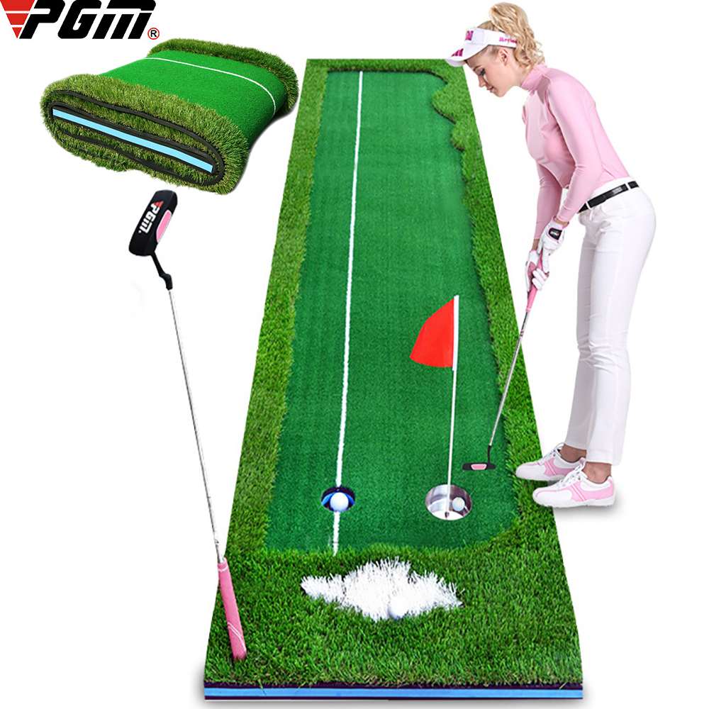 Indoor Golf Putting Green Swing Trainer