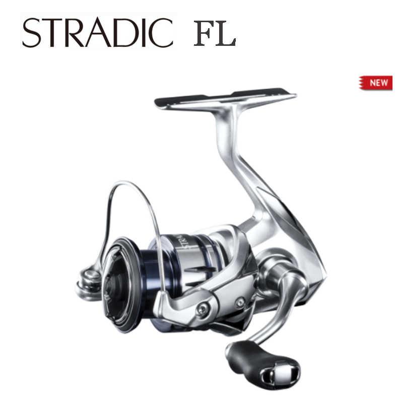 Nieuwe 2019 Shimano Ondiepe Spool Stradic Fl 1000S C2000S C2000SHG 2500S 2500SHG Hagane Body Zoetwater Spinning Vissen Rollen