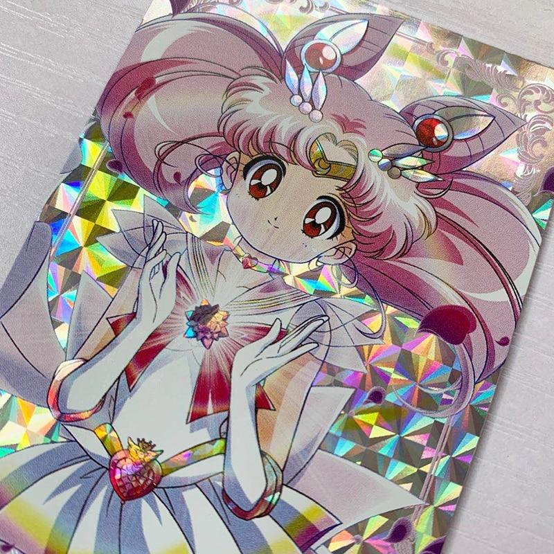 10pcs/set Sailor Moon No Original DIY Toys Hobbies Hobby Collectibles Game Collection Anime Cards