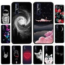Black Soft TPU Cover Case for VIVO X9 Plus Cases Silicone Phone on Vivo Y53 Y55 Y66 Y66L Y69 Y71 Y83 Pro Y91 Y95 U1 Fundas
