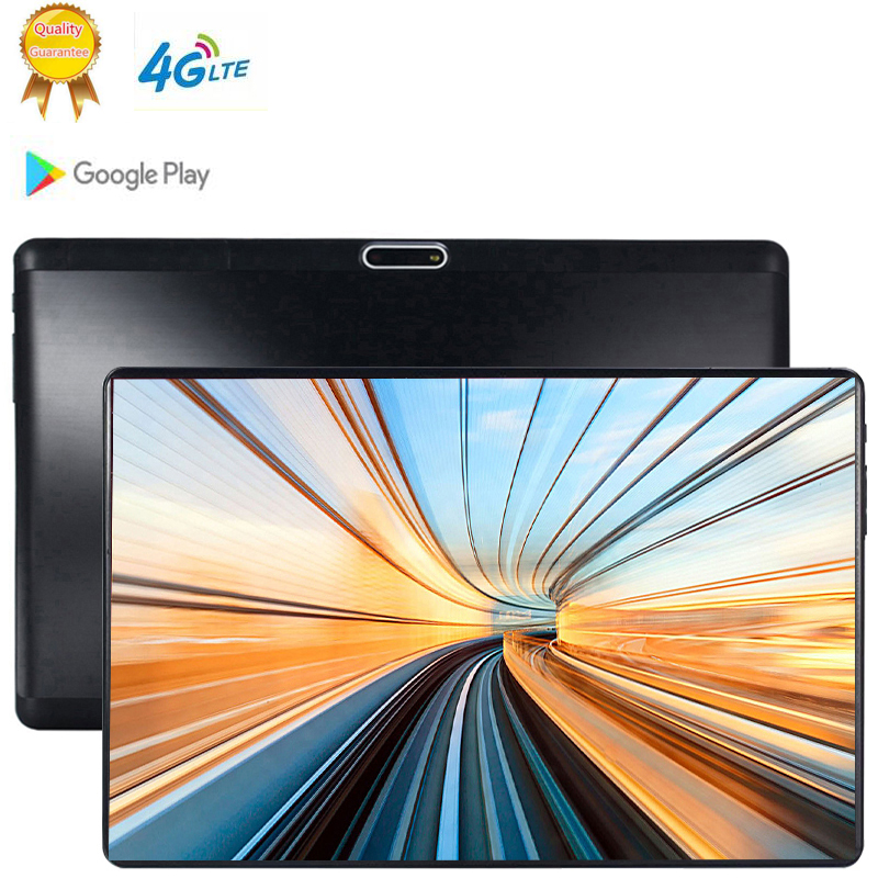 4G Phone Call 10 Inch Tablet PC Android 9.0 6GB RAM 64GB ROM Octa Cores Dual Cameras 5MP 1280 800 IPS Tablets Bluetooth Computer