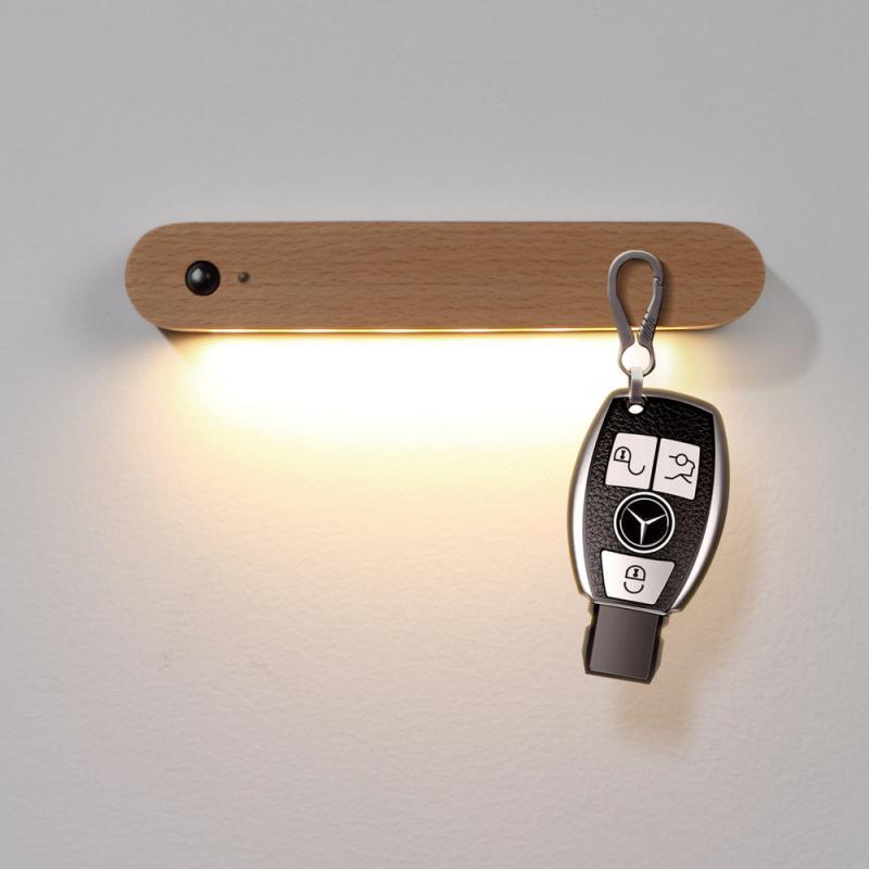 sem fio móvel magnético noite lâmpada para