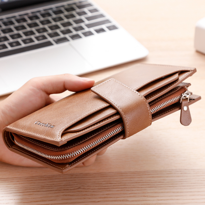 Unisex Women's Wallet Leather Pochette Men Wallet Card Holder Clutch Wallet Cartera Mujer Luxury Purse Designers Pochette Uomo