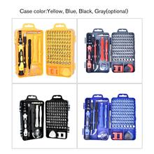 115 In 1 Precision Screwdriver Kit Accessory Set Steel Mini DIY Hand Work Repair Tools for iPhone Laptop PC Watch