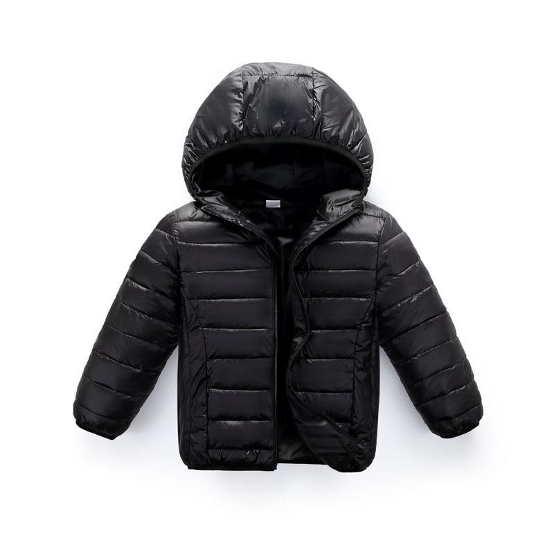 ZWY251 boys winter down jacket for girls white down parkas 90% down warm Ultra light children coat big boys girls clothes 3-11Y 2