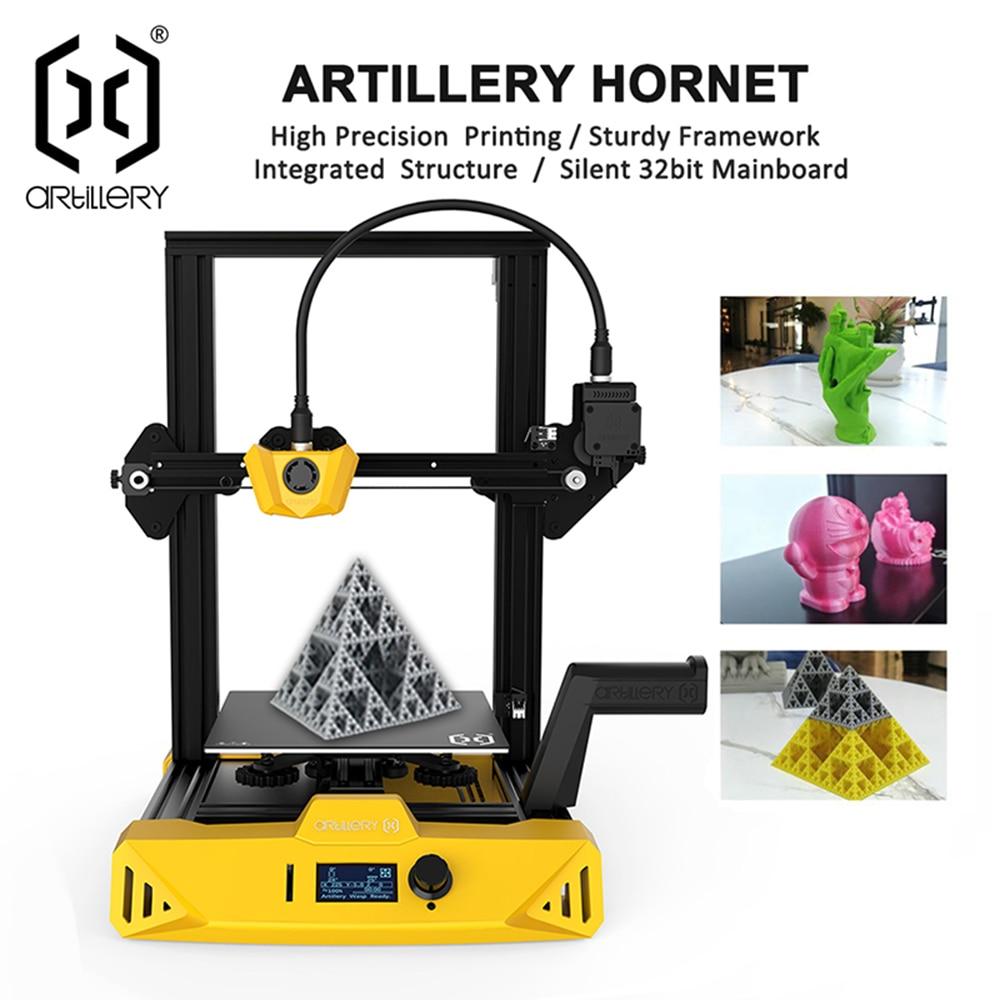 Высокоточный 3D-принтер Artillery Hornet, тихий, размер 220x220x250 мм, Настольный